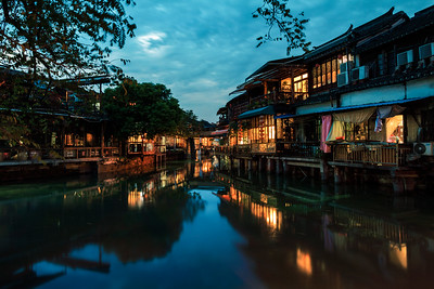 Quiet Dusk at Zhujiajiao