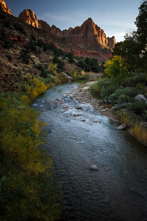 Zion Watchman sunset #zion #zioncanyon #utah