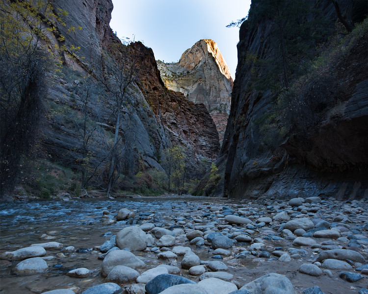 Entrance to The Narrows ... I hiked The Narrows a number of years ago ... I need to put it back on my list of things to do.