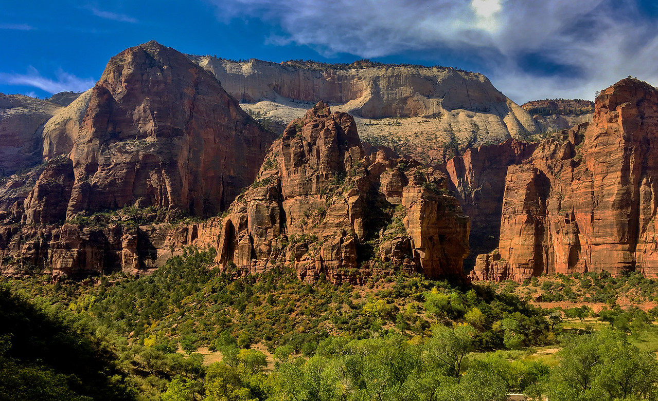Zion - From the hidden trail