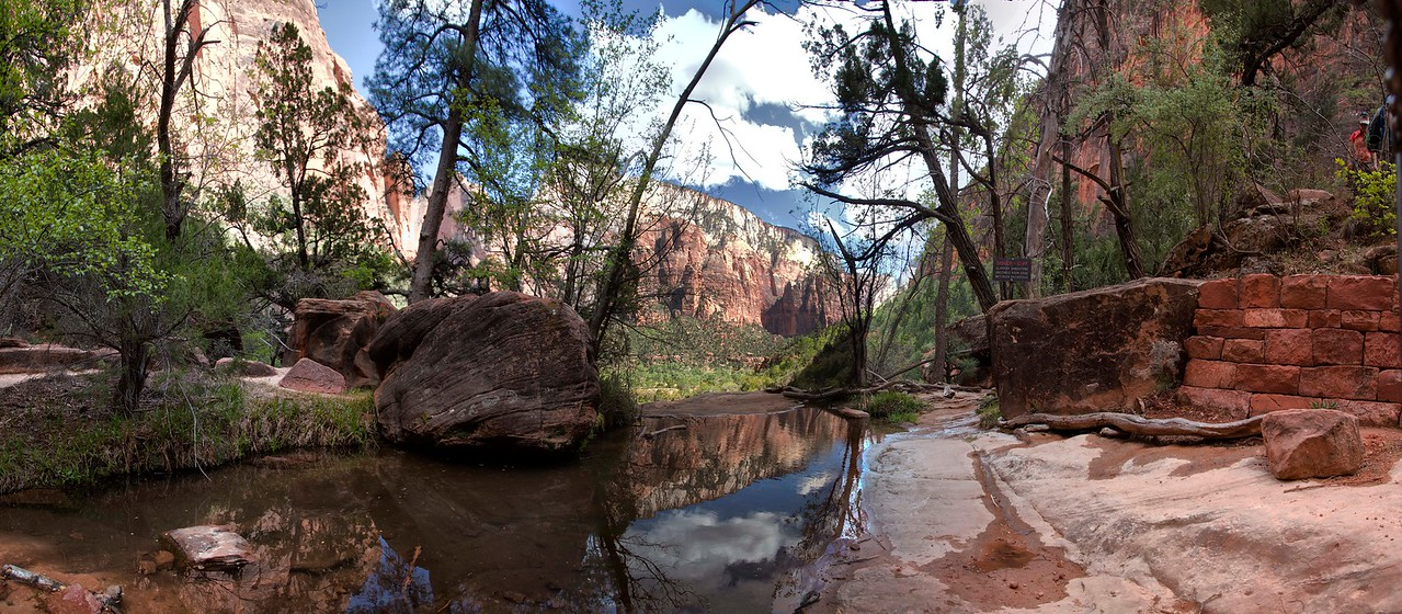 Middle Emerald Pool,  Zion National Park, Utah