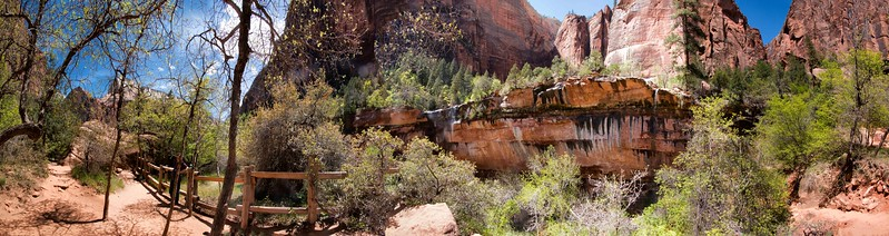 Lower Emerald Pool,  Zion National Park, Utah