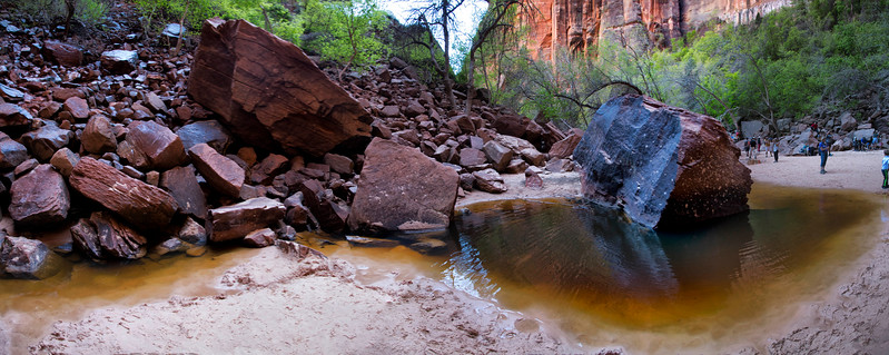 Upper Emerald Pool,  Zion National Park, Utah