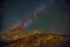"""""""Streaks, Stars and Sentinels,"""" The Sentinel and the Streaked Wall, Zion Canyon, Zion National Park, Utah"""