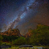 """The Galactic Court,"" Court of the Patriarchs, Zion Canyon, Zion National Park"