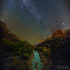 """River of Dreams,"" Zion Canyon, Zion National Park"