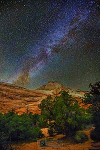 """Temple of Stars,"" Zion National Park, Utah"