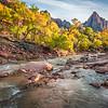 Zion National Park Autumn Colors & Winter Snow Fine Art Photography 45EPIC Dr. Elliot McGucken Fine Art Landscape and Nature Photography