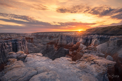 Coal Mine Canyon Sunrise VI