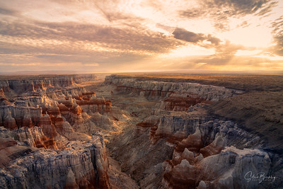 Coal Mine Canyon Sunrise IX