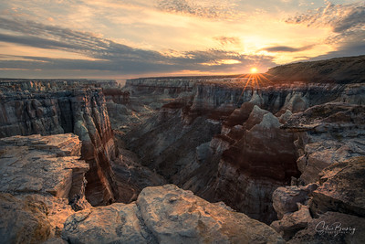 Coal Mine Canyon Sunrise II
