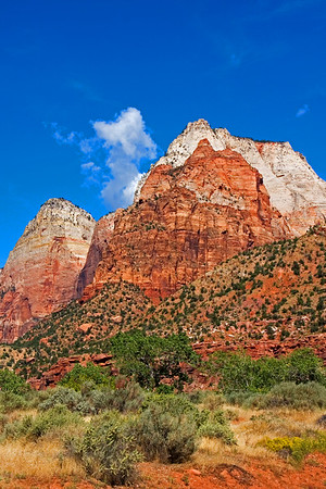 Zion Canyon, Zion National Park.