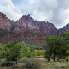 Zion Amphitheater view