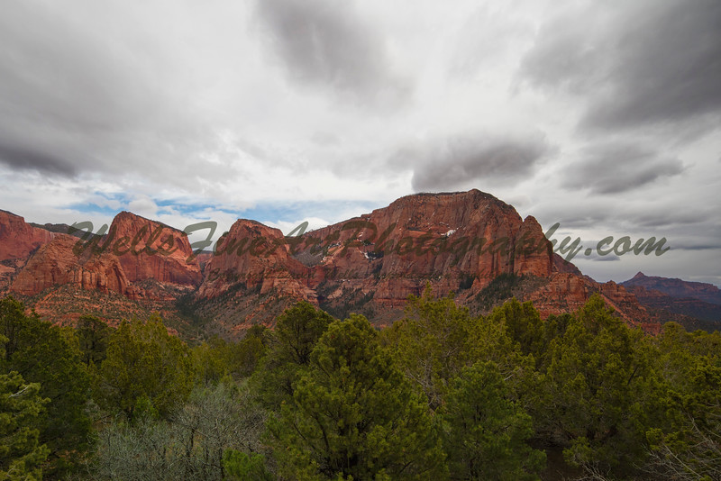 Kolob Canyon & clouds