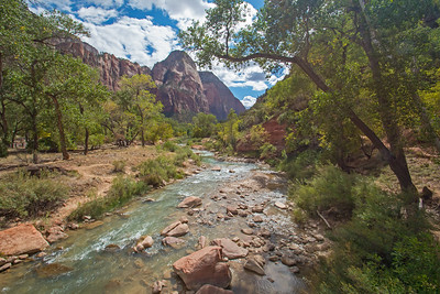 Zion National Park with Virgin River