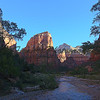 Starting the hike to Angel's Landing