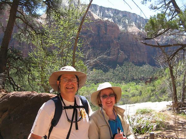 Emerald  Pools Trail volkswalk, April 19, 2011