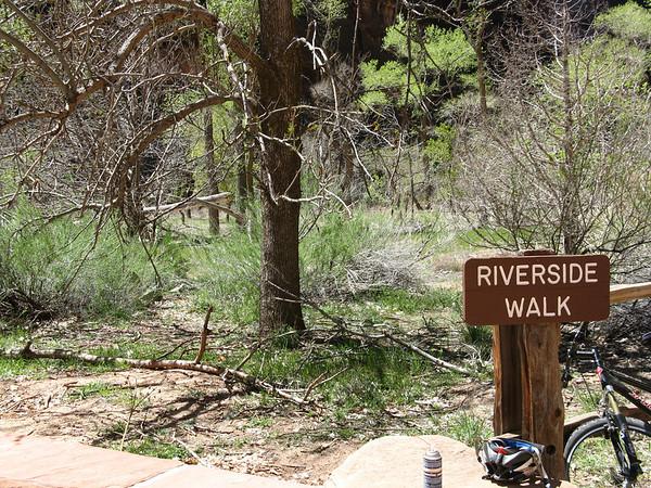Riverside Trail volkswalk, April 19,2011