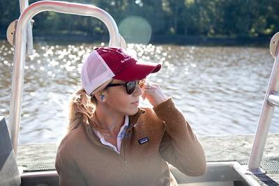 Louisiana Farm Bureau social media coordinator Kristen Oaks-White documents American Farm Bureau President Zippy Duvall's trip for social media.