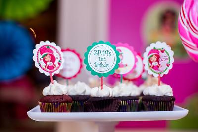 Ziva's 1st Birthday