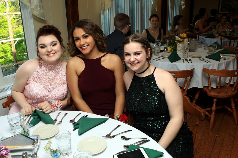 Sizer School held its prom at Westminster's 1761 Old Mill on Saturday night. Photo by Vincent Apollonio