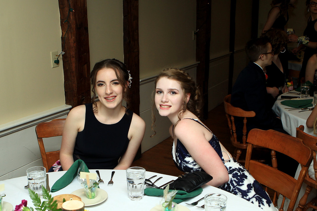 . Sizer School held its prom at Westminster\'s 1761 Old Mill on Saturday night. Photo by Vincent Apollonio