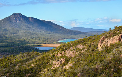 Mt Freycinet ; Hazards Lagoon