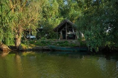 Shed ; Danube Delta