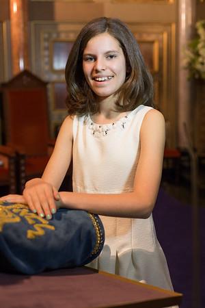 Zoe Fisher Bat Mitzvah