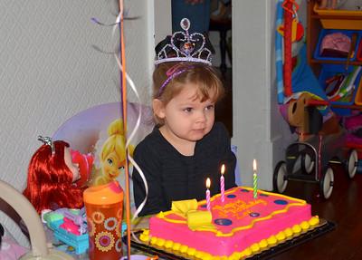 Zoe 3rd Birthday