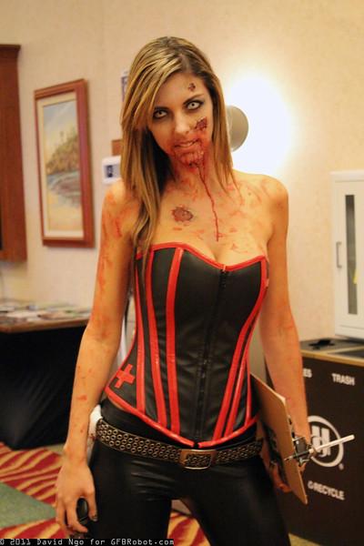 Zombie Tramp Model