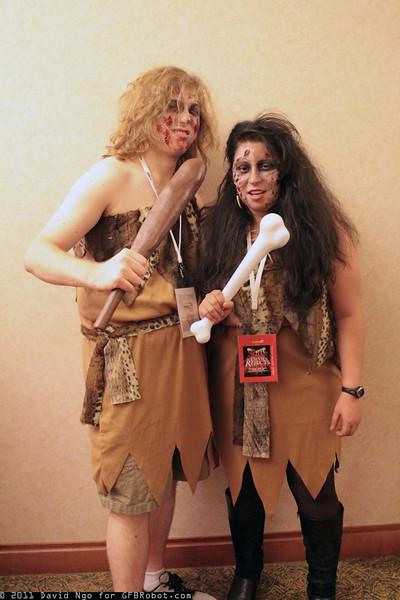 Zombie Cavemen