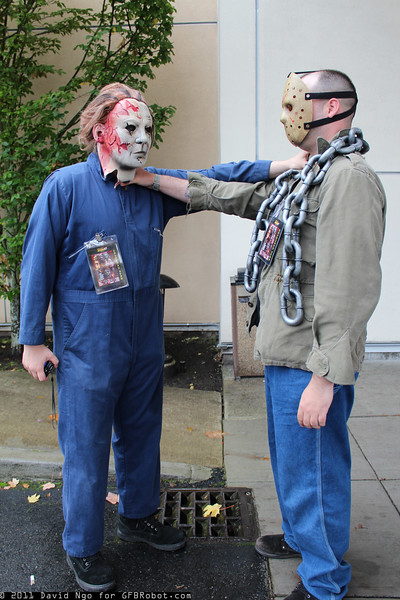 Michael Myers and Jason Voorhees