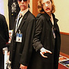 Zombie Fox Mulder and Zombie Dana Scully