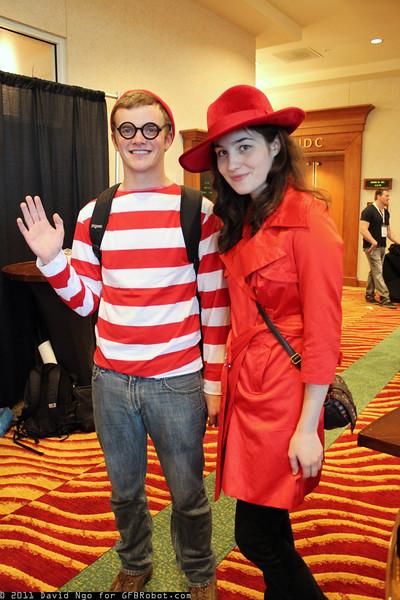 Waldo and Carmen Sandiego