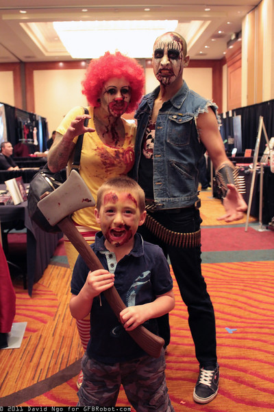 Zombie Ronald McDonald and Zombies