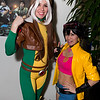 Rogue and Jubilee
