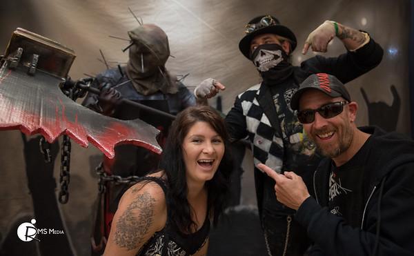 Zombie Photo Shoot – Alice Cooper Pre-Party | The Q Centre | Victoria BC