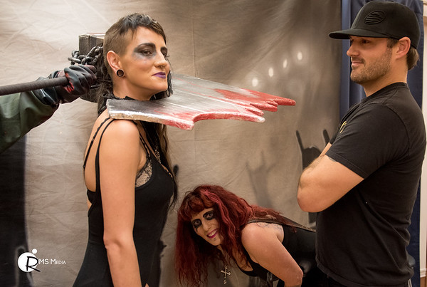 Zombie Photo Shoot – Alice Cooper Pre-Party   The Q Centre   Victoria BC