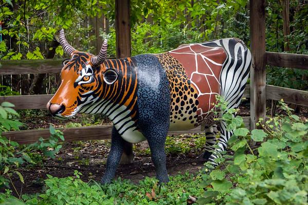 Zoo Art Cow