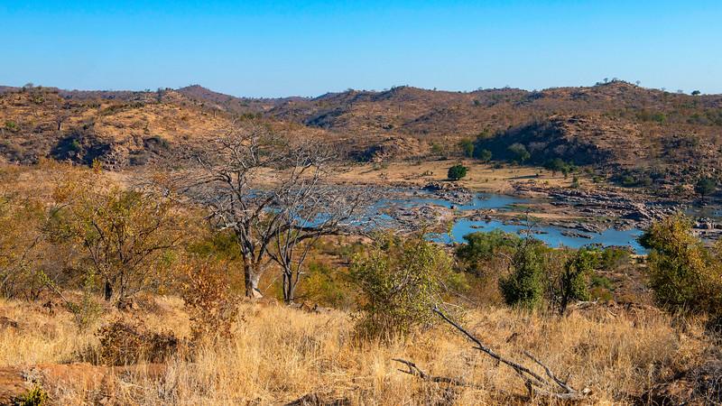 The Runde River in Gonarezhou NP, Zimbabwe. © Daniel Rosengren