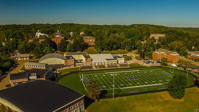 Hiram Football Field Zoom Wallpaper