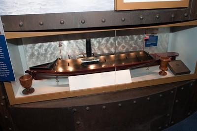 2009-10-03 - USNA Museum - 343 - Confederate Ironclad - CSS Virginia - _DSC7763
