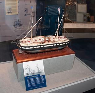 2009-10-03 - USNA Museum - 313 - 1st Steam Warship - USS Demologus - _DSC7727