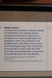 2009-10-03 - USNA Museum - 282 - Brig - USS Syren (caption) - _DSC7690