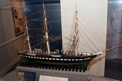 2009-10-03 - USNA Museum - 319 - Steam Screw Frigate - USS Wabash - _DSC7733