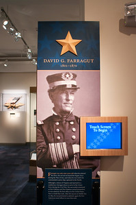 2009-10-03 - USNA Museum - 334 - Profiles (David G Farragut) - _DSC7752