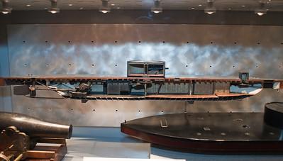 2009-10-03 - USNA Museum - 335 - 1st US Ironclad Warship - USS Monitor (cutaway) - _DSC7755