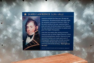 2009-10-03 - USNA Museum - 292 - Profiles (James Lawrence) - _DSC7701