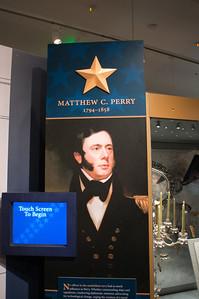 2009-10-03 - USNA Museum - 311 - Profiles (Matthew C Perry) - _DSC7725